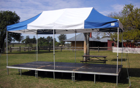 6m x 3m Pop Top Stage