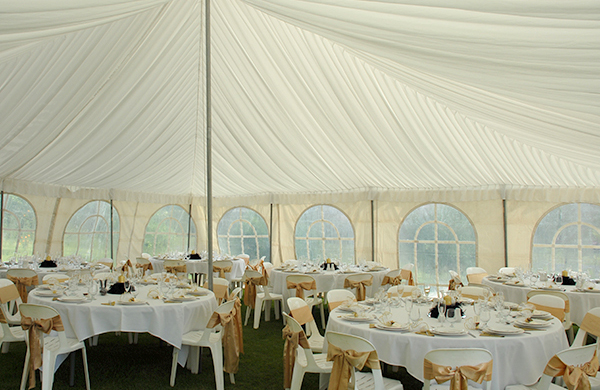 Silk Linings For Marquees